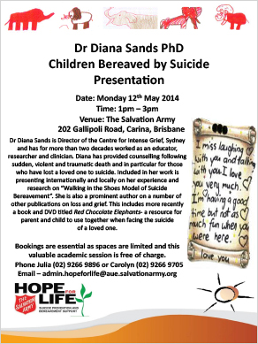 Diana Sands Presentation - Salvation Army - Brisbane