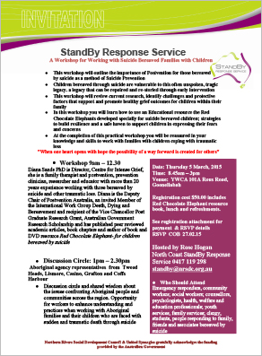 Diana Sands Workshop - Standby Reponse Service Workshop