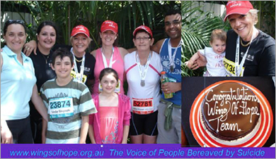 Wings of Hope - Fun Run - Blackmore Sydney Half-Marathon 2014