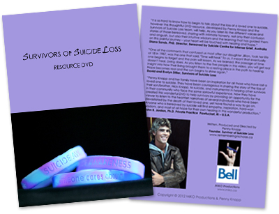 Survivors of Suicide Loss DVD Cover